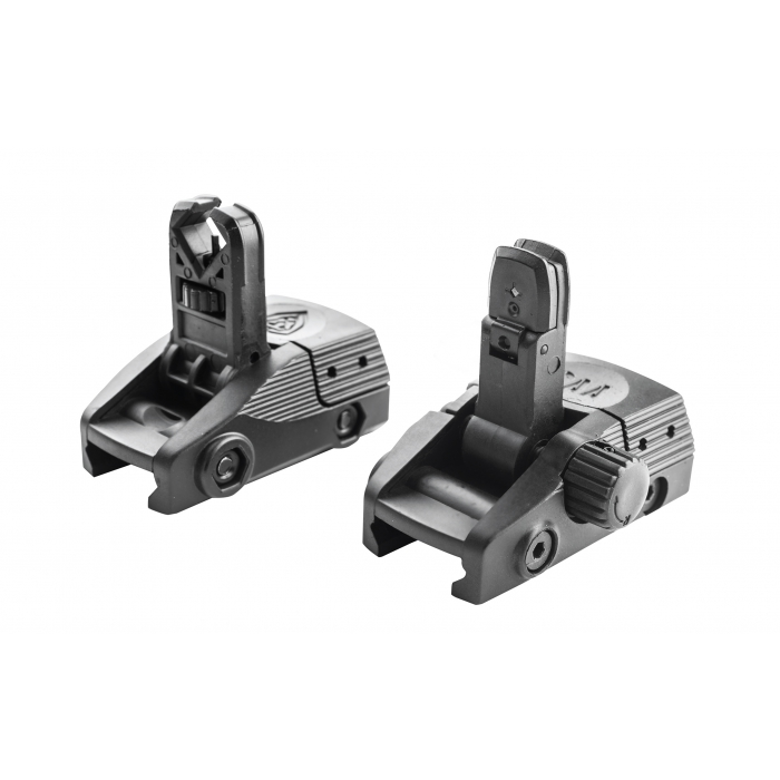 Flip-up sights set